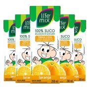 SUCO DE LARANJA - LIFE MIX KIDS - PACK 6 UN