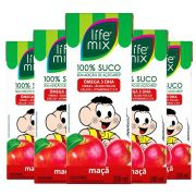 SUCO DE MAÇÃ - LIFE MIX KIDS - PACK 6 UN