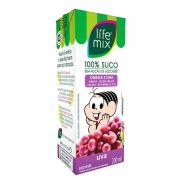 SUCO DE UVA - LIFE MIX KIDS - PACK 6 UN