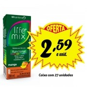Bebida funcional Life MIx Manga 200ml (27 unidades)