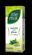 CHÁ MATCHÁ COM FIBRAS - LIFE MIX - 200 ML