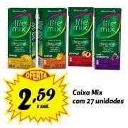 Bebida funcional Life Mix sabores variados 200ml (27 unidades)