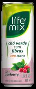 CHÁ VERDE COM CRANBERRY COM FIBRAS - LIFE MIX - 290ML