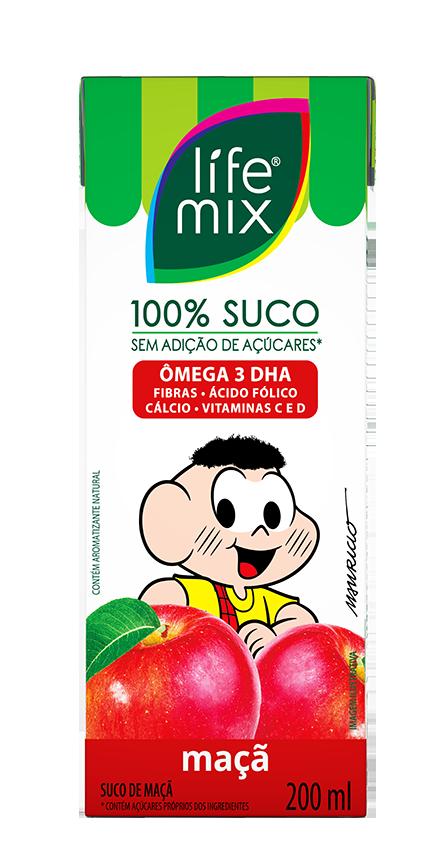 SUCO DE MAÇÃ - LIFE MIX KIDS - 200ml