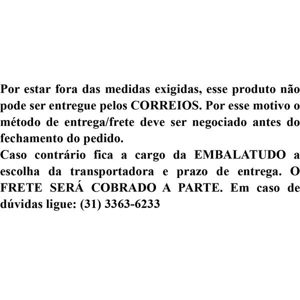 Serra Fita 2,55 BECCARO INOX  - Loja Embalatudo