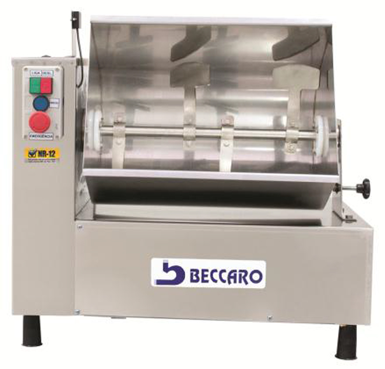 Misturadeira para Carnes 25 KG Beccaro Inox  - Loja Embalatudo