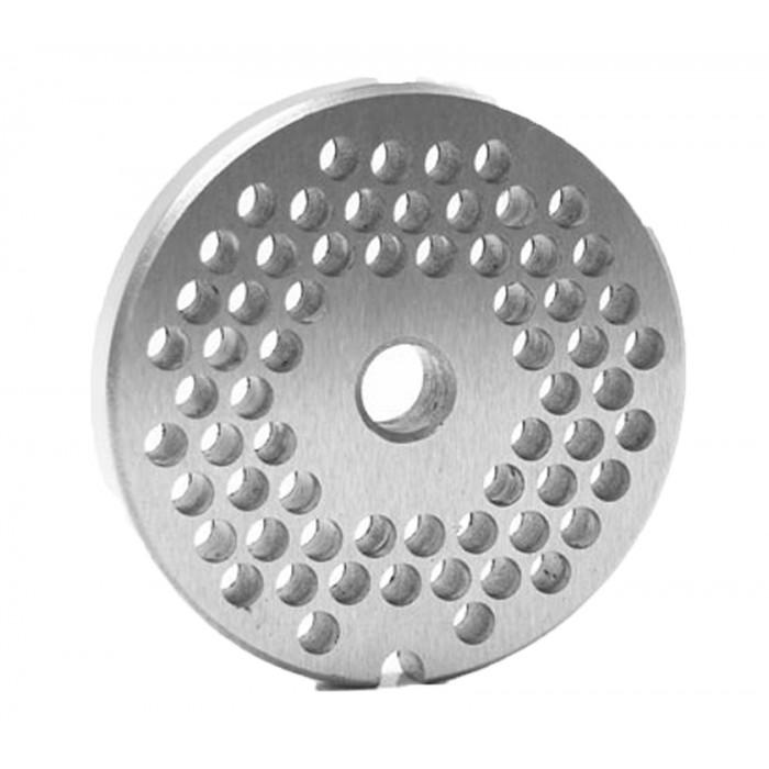 Disco para moedor de carne boca 10 INOX  - Loja Embalatudo