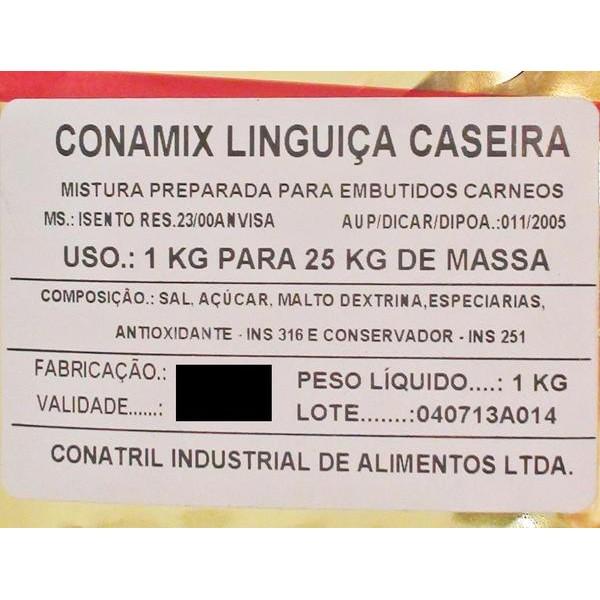 Conamix Linguiça Caseira  - Loja Embalatudo
