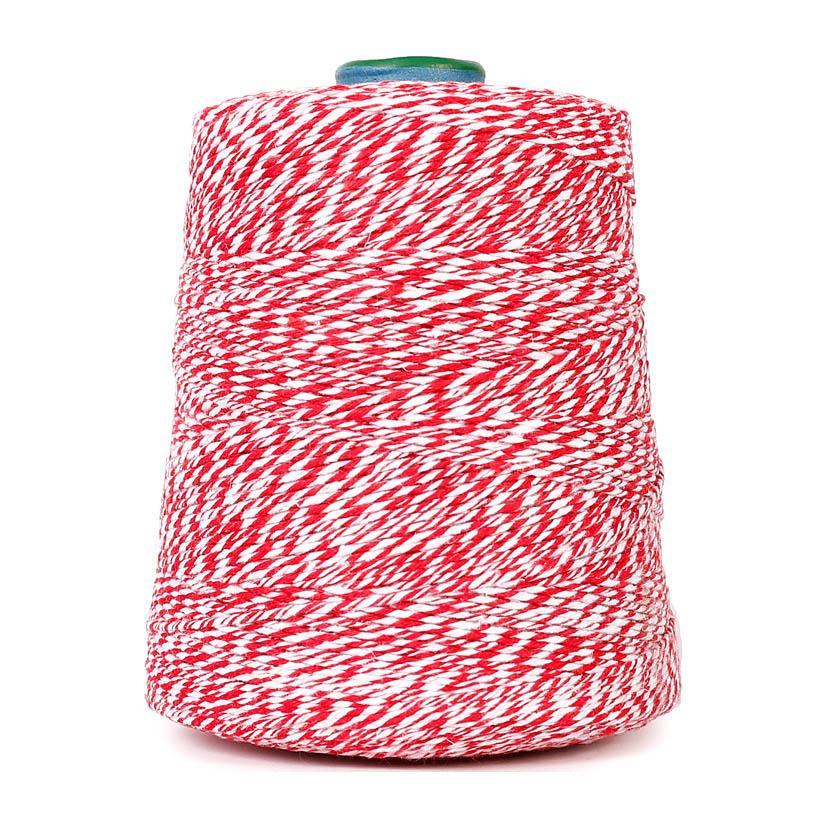 Barbante de algodão colorido para linguiça -1 KG  - Loja Embalatudo