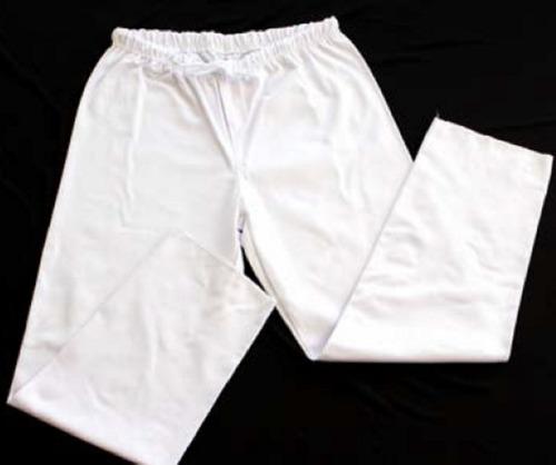 Calça Branca Lisa  - Loja Embalatudo