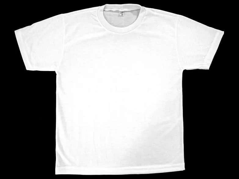 Camisa Branca Lisa  - Loja Embalatudo