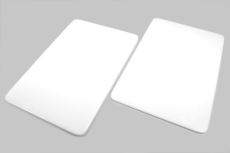 Chapa de polietileno para açougue - 30 x 50 cm  - Loja Embalatudo