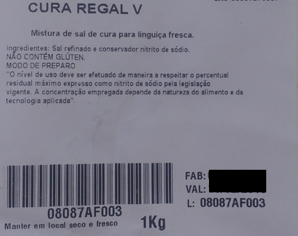 Cura Regal para Linguiça Fresca - Griffith  - Loja Embalatudo