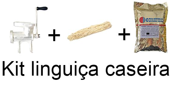 Kit linguiça caseira  - Loja Embalatudo