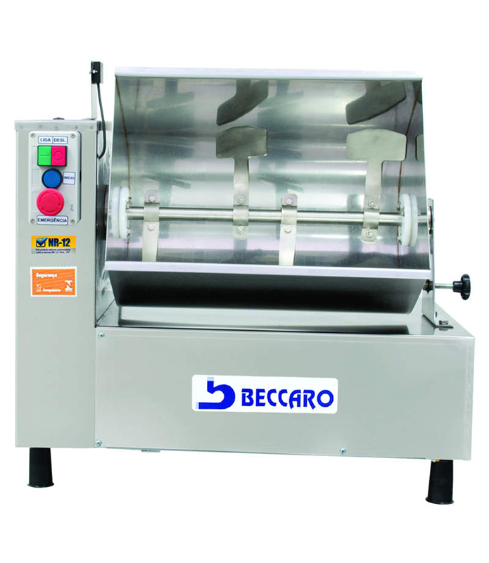 Misturadeira para Carnes 50 KG Beccaro Inox  - Loja Embalatudo