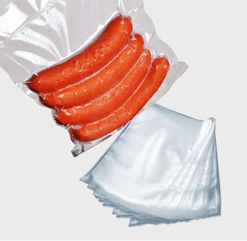 Saco Plástico para vácuo 15x25x0,12 - 500 unidades  - Loja Embalatudo
