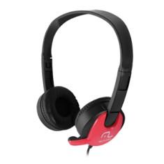Headset Vermelho PH071 - Multilaser