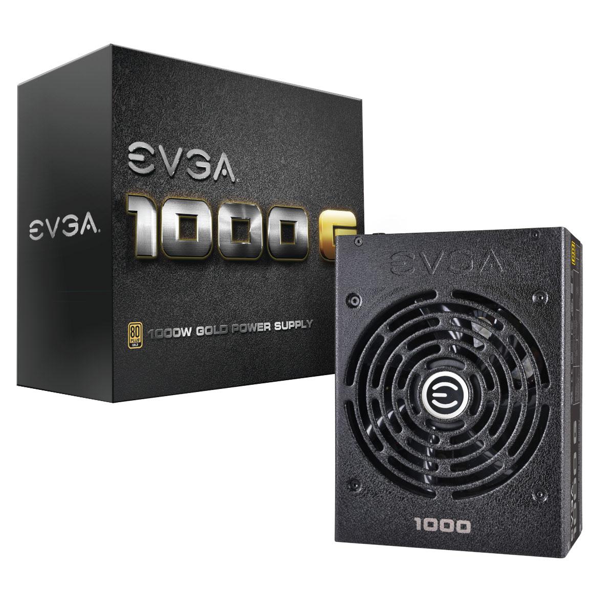 Fonte ATX 1000W Super NOVA 80 Plus Gold 120-G1-1000-VR Modular - EVGA