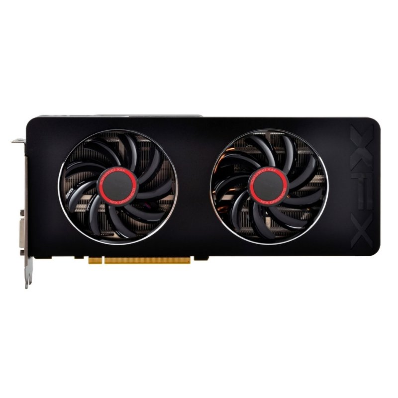 Placa de Vídeo R9 280X 3GB GDDR5 Black R9-280X-TDBD - XFX