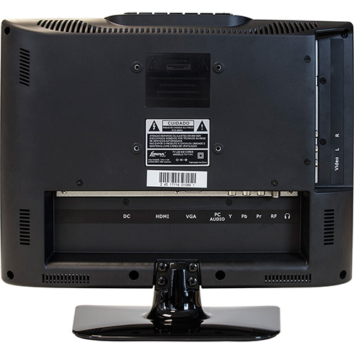 Monitor TV LED 14 cod 7114 HDMI/USB - Lenoxx