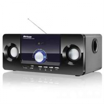 Caixa de Som 2.1 20W RMS MP3 Bass Box Biv SP117 - Multilaser