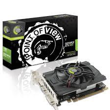 Placa de Vídeo Geforce GTX650 1GB DDR5 128Bit VGA-650-A2-1024 - Point Of View