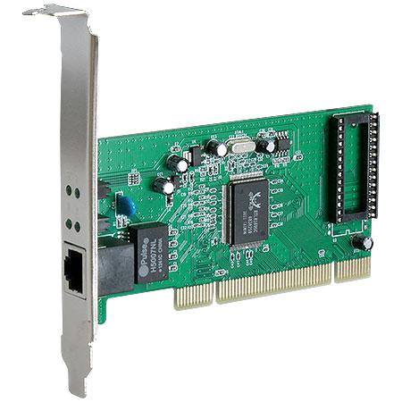Placa de Rede 10/100/1000 PCI PRV-1000 - Vinik