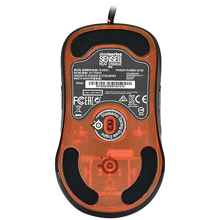 Mouse Gamer Laser Sensei Raw Heat Orange 62163 - Steelseries