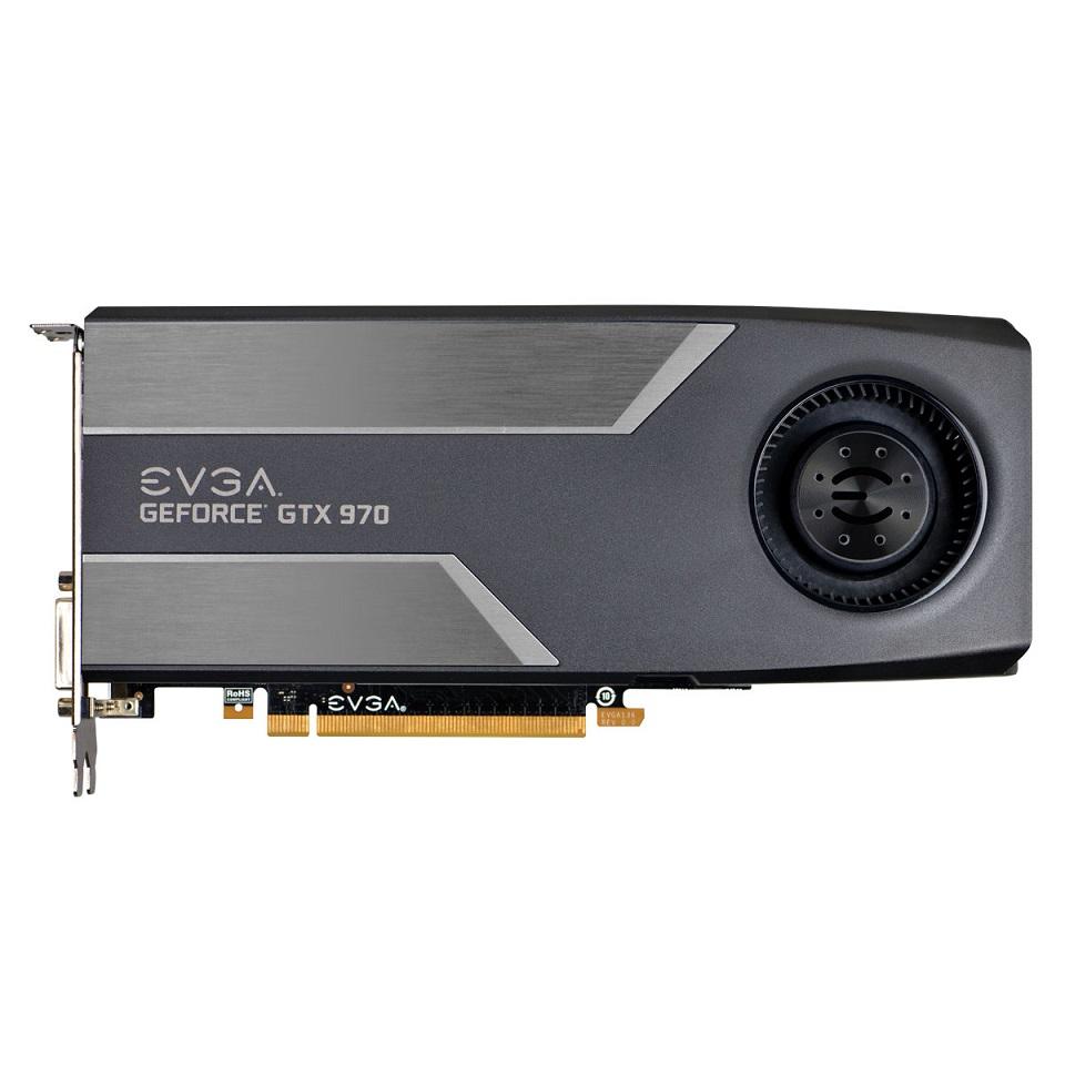 Placa de Vídeo GeForce GTX970 4GB DDR5 Superclocked 04G-P4-1972-KR - EVGA