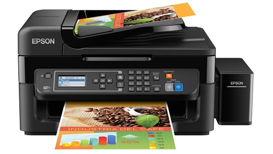 Multifuncional L565 Eco Tank 4 em 1 Colorida Wireless + Fax Bivolt - Epson