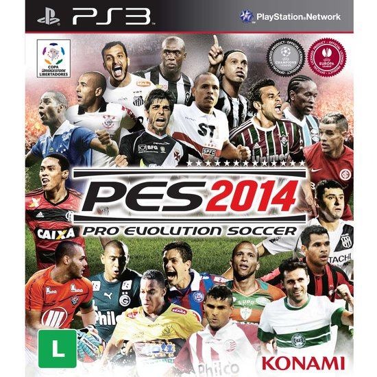 Game Pro Evolution Soccer 2014 - PS3 - Konami