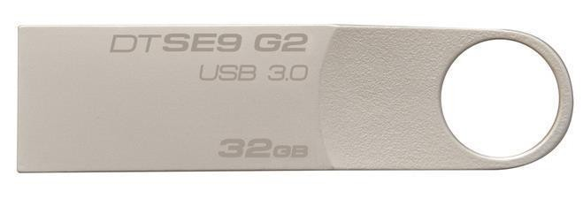 Pen Drive Datatraveler 32GB USB 3.0 Prata DTSE9G2/32GB - kingston