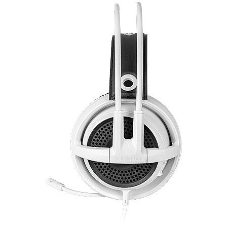 Fone de Ouvido com Microfone Siberia V3 Branco 61356 - Steelseries