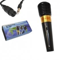 Microfone Int Karaoke HS-993 Cabo 1,5m Profissional