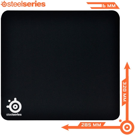 Mouse Pad QCK Mass 63010 Preto - Steelseries