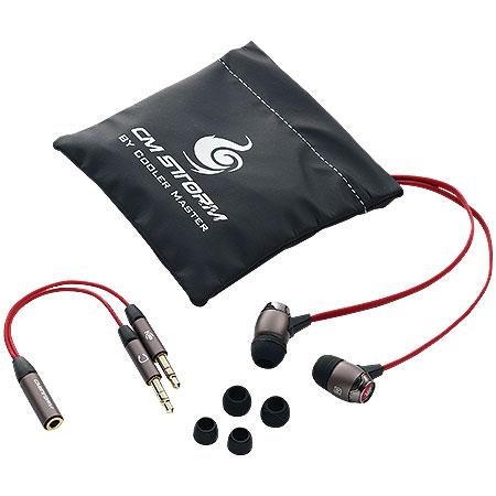Fone de Ouvido com Microfone CM Storm Pitch SGH-2060-KKTI1 - Cooler Master