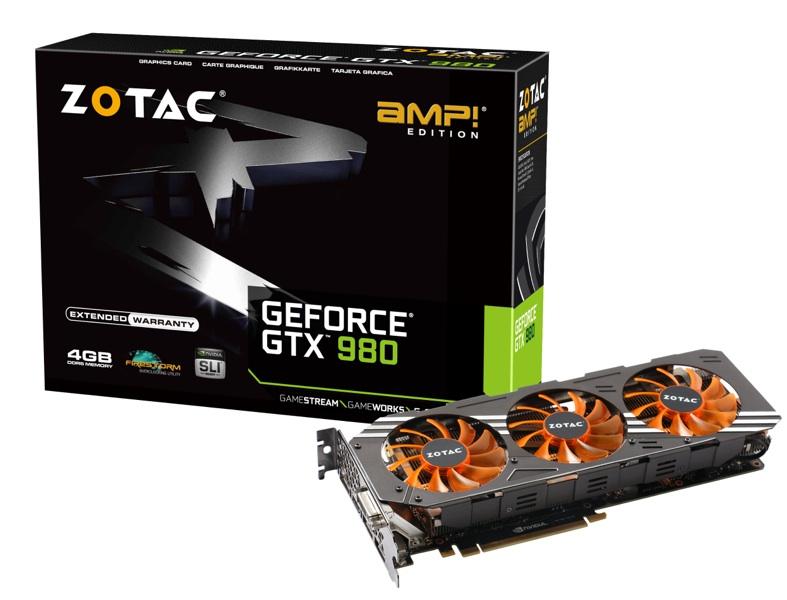 Placa de Vídeo Geforce GTX980 AMP! Edition ZT-90204-10P 4GB 256Bit GDDR5 - Zotac