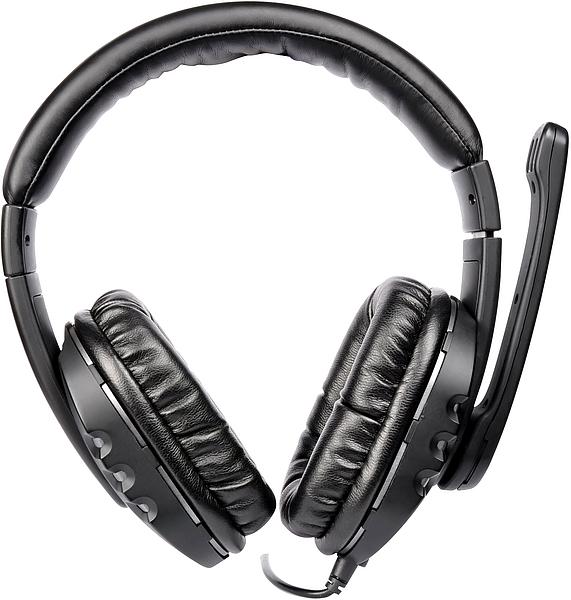 Fone de Ouvido com Microfone Triton Stereo SL-8746-SV - Speedlink