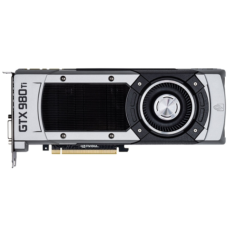 Placa de Vídeo Geforce GTX980 TI SuperClock 384Bit 6GB GDDR5 06G-P4-4992-KR - EVGA