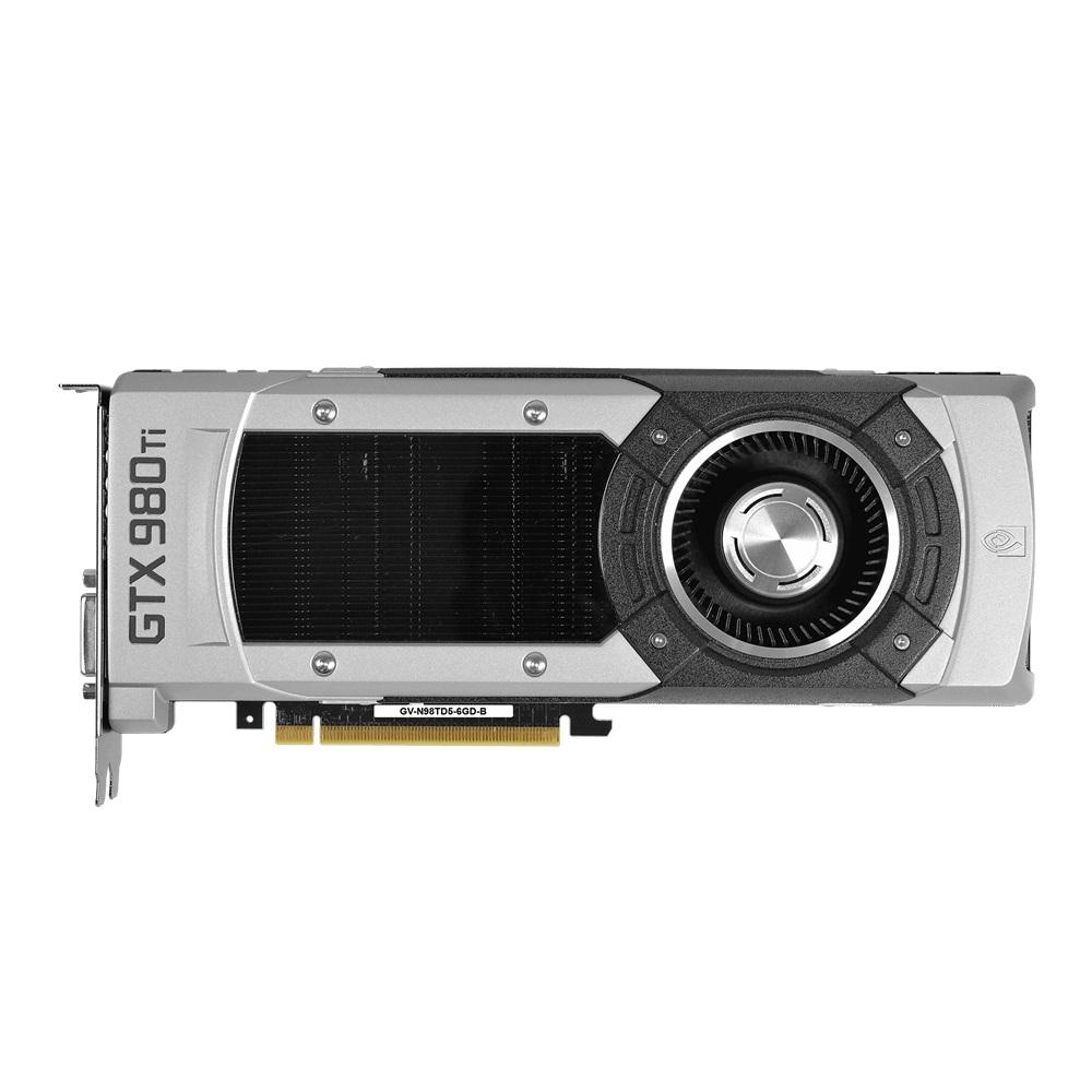 Placa de Vídeo Geforce GTX980 TI 6GB DDR5 384Bit GV-N98TD5-6GD-B - Gigabyte