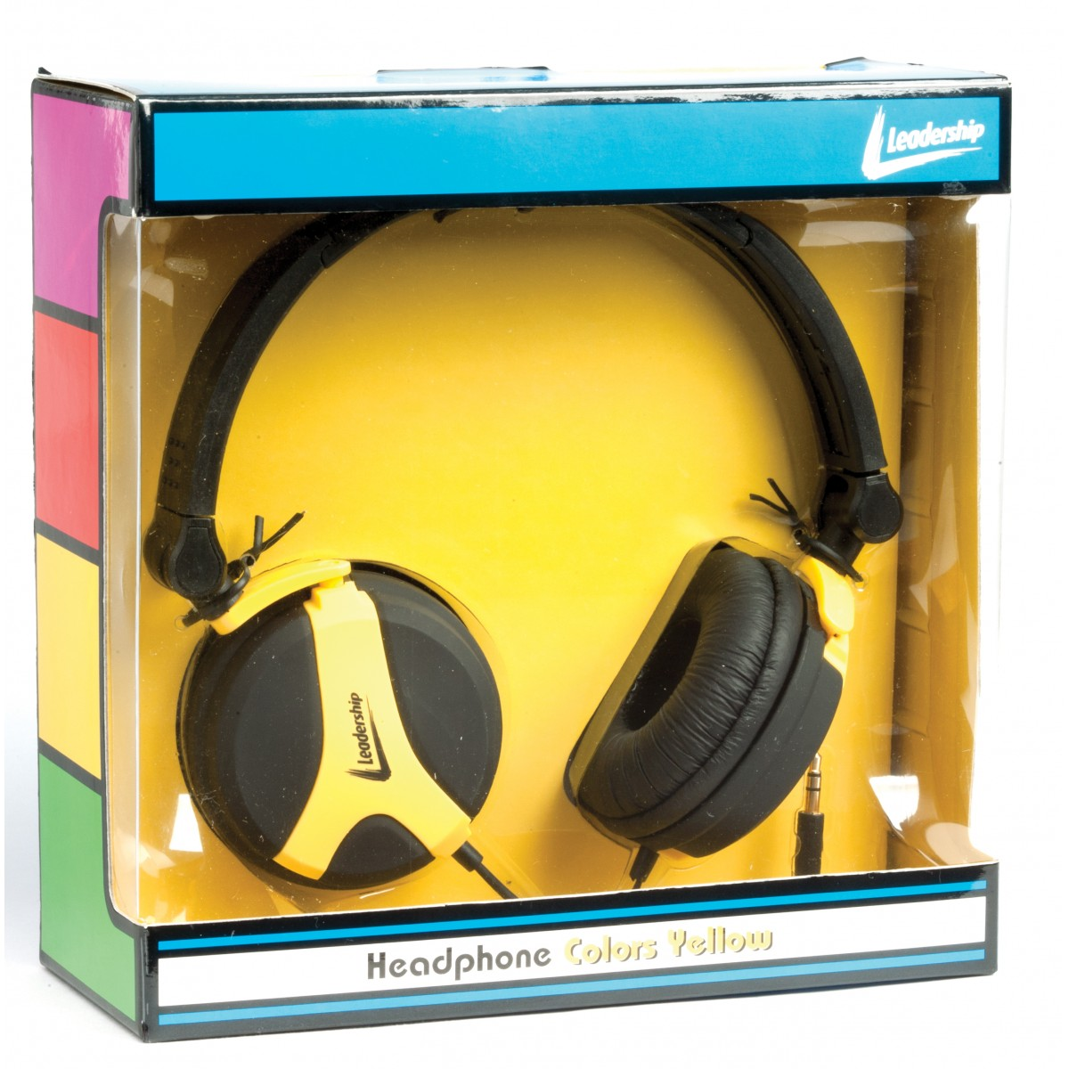 Headphone colors yellow 2774 - Leadership