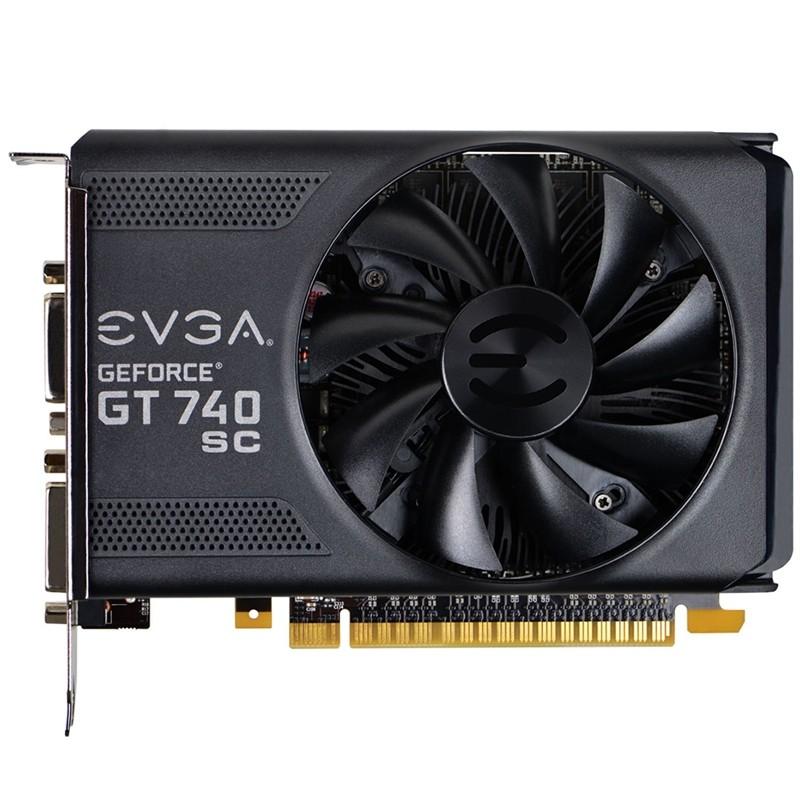 Placa de Vídeo Geforce GT740 SC 1GB DDR5 128Bit 01G-P4-3743-KR - EVGA