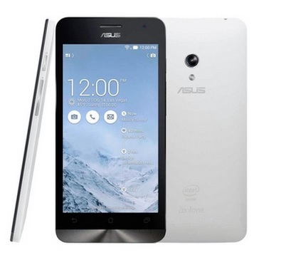 Smartphone ZenFone 5 A501-2B481 c/ Intel Cover Trail Plus 1.2Ghz, Android 4.4, Tela HD 5, 8GB, Cam 8MP, 3G, Dual Chip, Branco - Asus