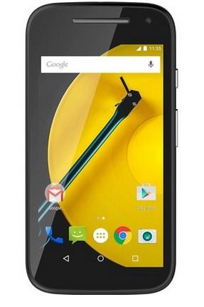 Smartphone Moto E 2° Geração XT1514, Processador Quad Core, Android 5.0, Tela 4.5, 8GB, Câmera 5MP, 4G, Dual Chip, Preto - Motorola