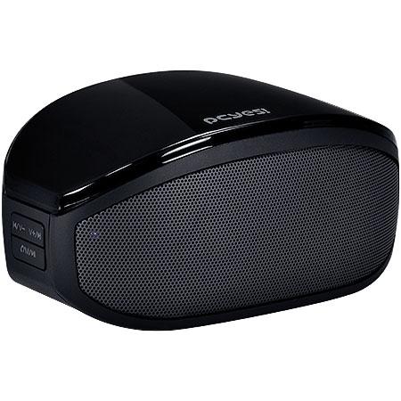 Caixa de Som Sensation 2.0 Bluetooth/Rádio FM/AUX/Micro SD/Função Atender Celular Preta 22280 - Pcyes