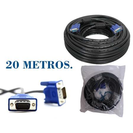 Cabo de Vídeo VGA 20 Metros CB0193 - OEM