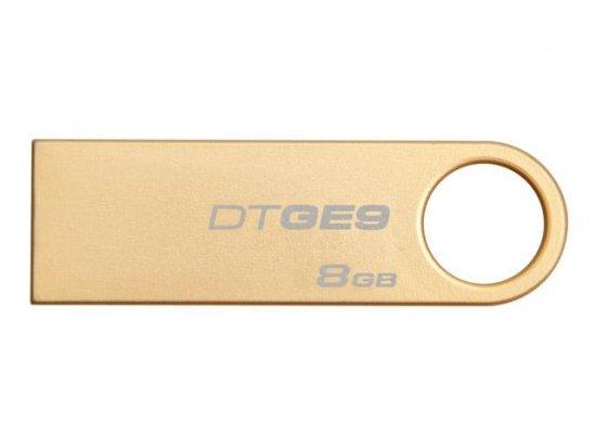 Pen Drive USB 8GB DTGE9/8GB Ouro - Kingston