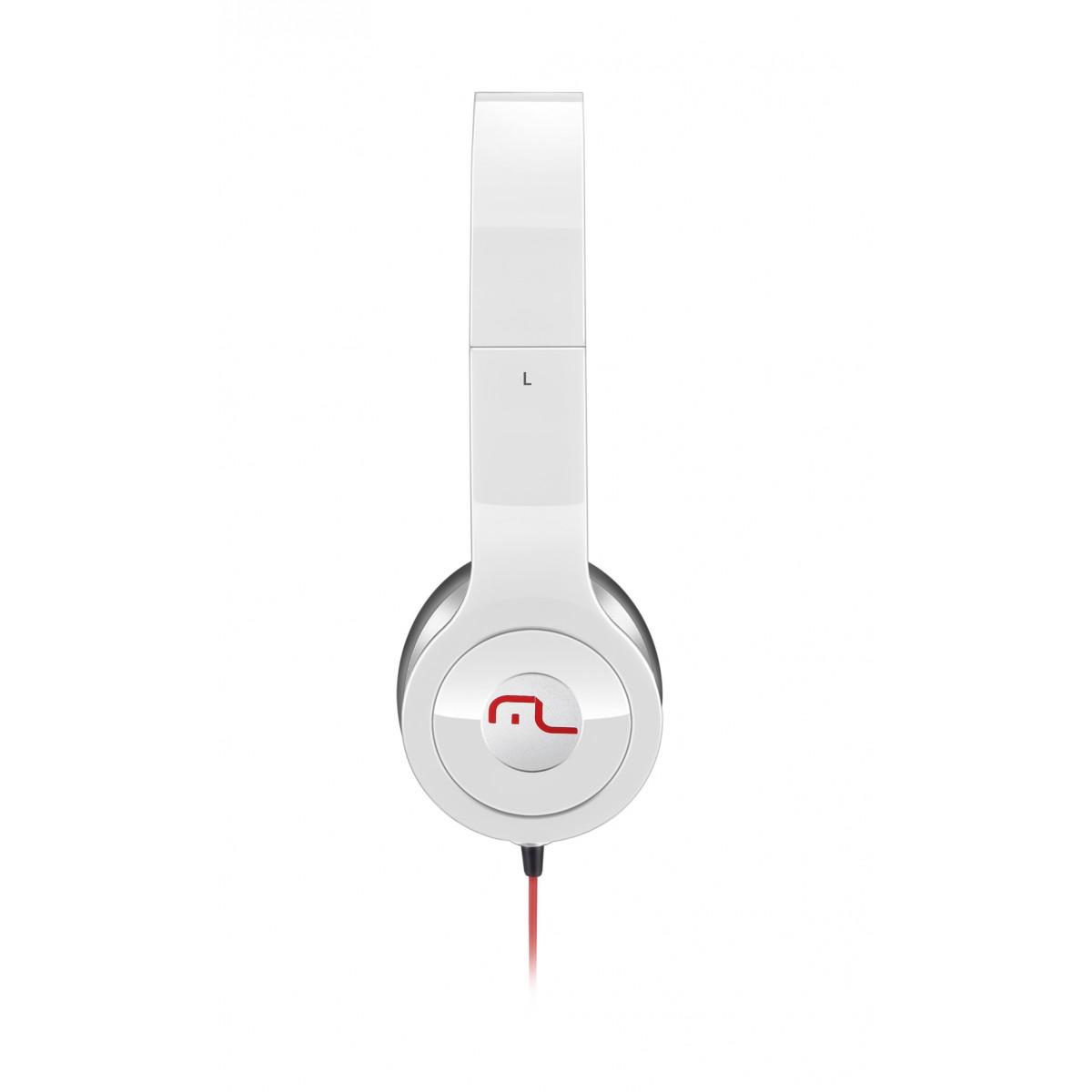 Fone de Ouvido Com Branco Hot Beat PowerPhone PH067 - Multilaser
