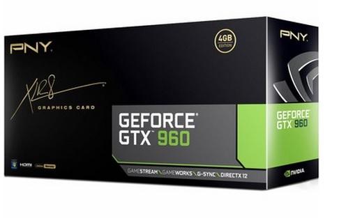 Placa de Vídeo Geforce GTX960 4GB DDR5 128Bit VCGGTX9604XPB - PNY