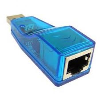 Adaptador USB Para Lan RJ45 10/100Mbps AD4 KYQF9700 - OEM